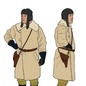 Oficial-de-las-Fuerzas-Armadas---uniforme-de-campo-de-invierno